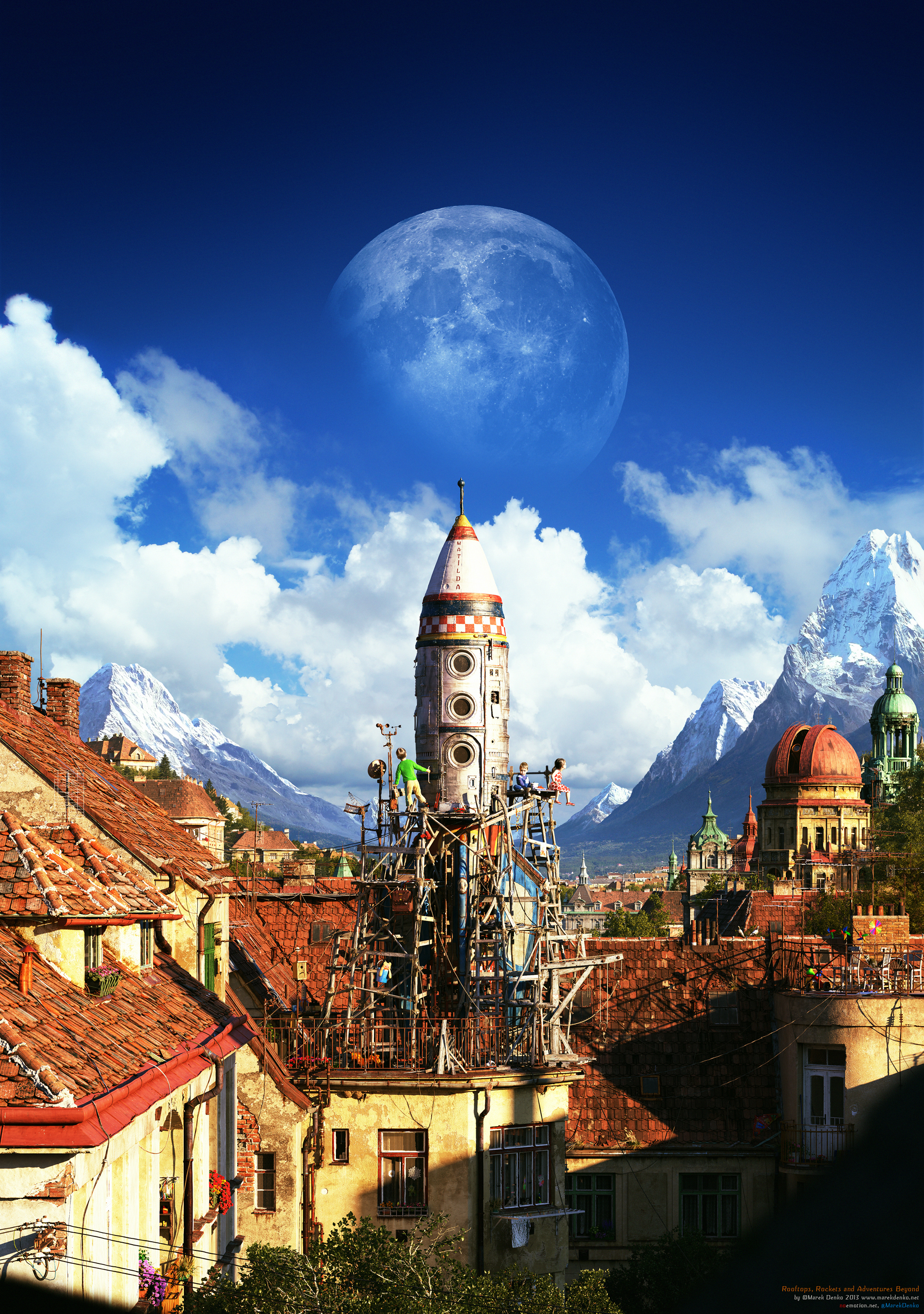 ​Marek Denko - pragmatic family guy, an artist picturing nostalgia, and mature CG professional 3